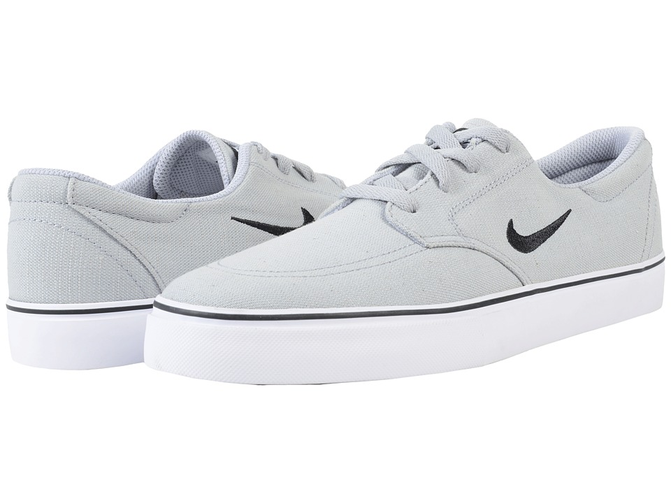 Nike SB - Clutch (Wolf Grey/Black/White) Men's Skate Shoes