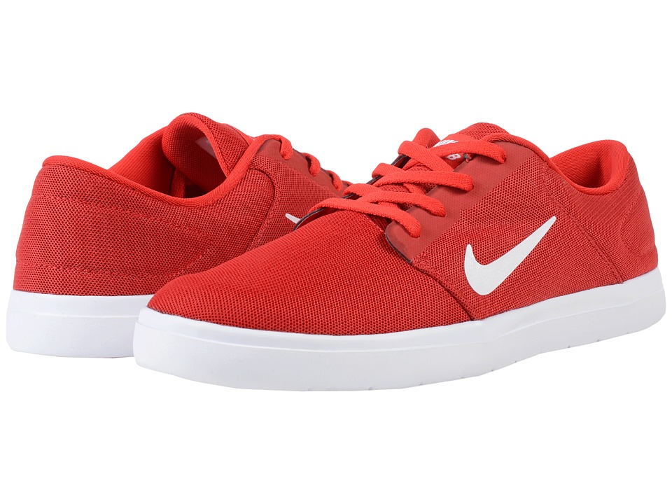 Nike SB - Portmore Ultralight Mesh (University Red/White/Gym Red) Men's Skate Shoes
