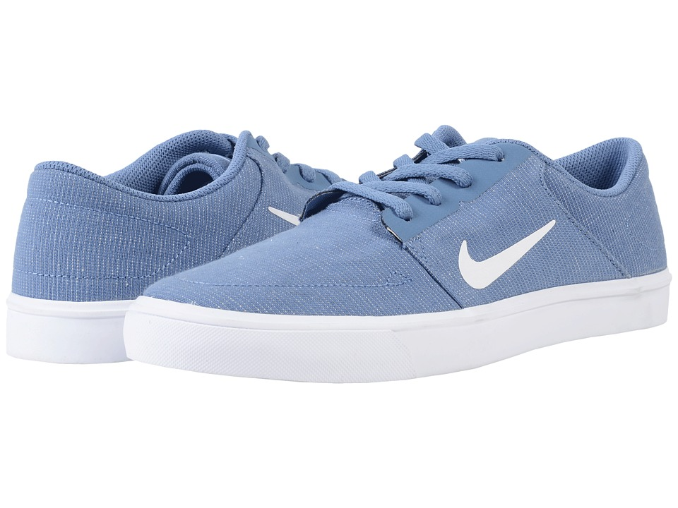 Nike SB Portmore Canvas (Ocean Fog/White) Men