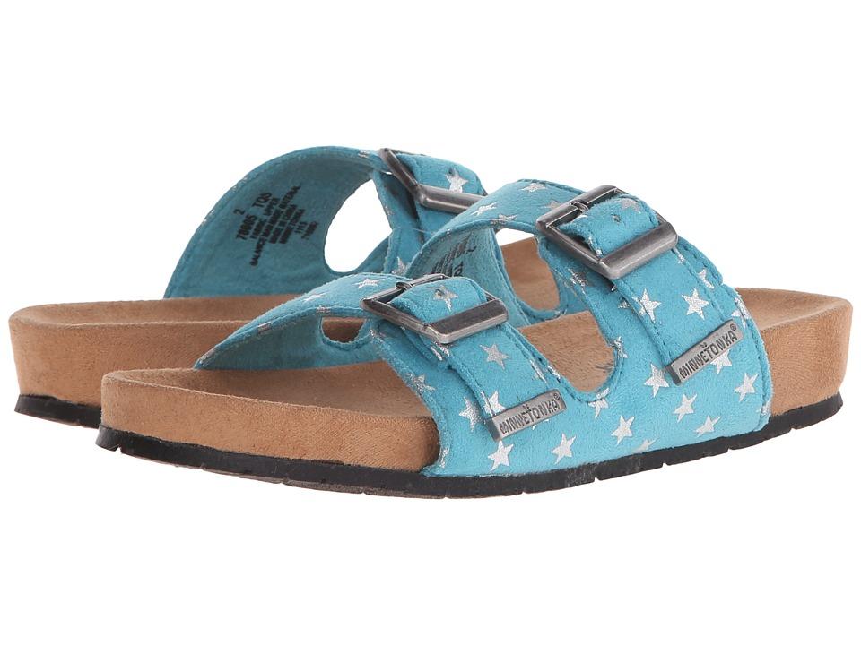 Minnetonka Kids - Gigi (Toddler/Little Kid/Big Kid) (Turquoise) Girls Shoes