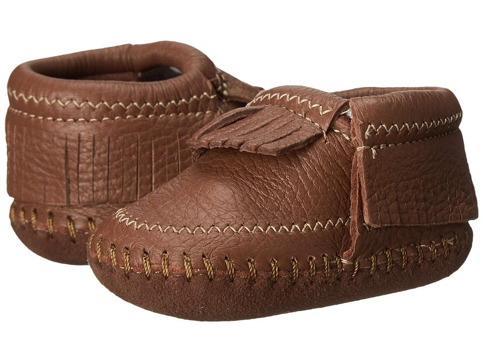 Minnetonka Kids Riley Bootie (Infant/Toddler) (Carmel) Girls Shoes