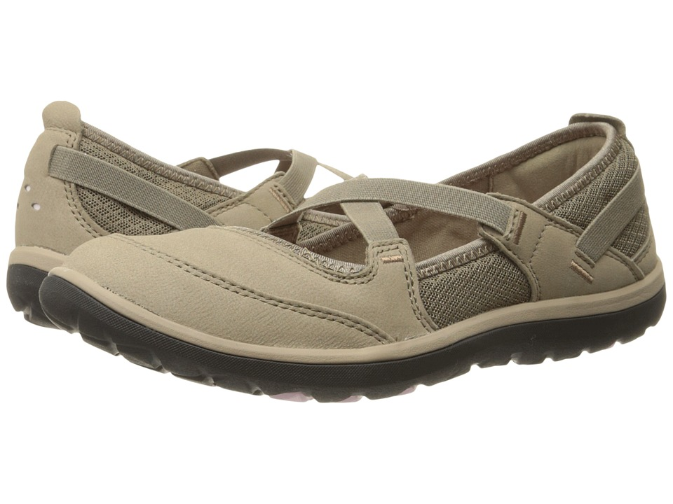 Clarks Aria Maryjane (Light Brown Leather) Women