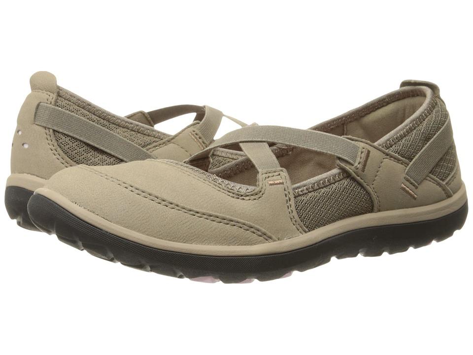 Clarks - Aria Maryjane (Light Brown Leather) Women's Maryjane Shoes