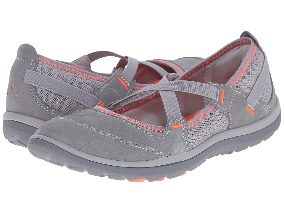 Clarks Aria Maryjane (Grey Leather) Women