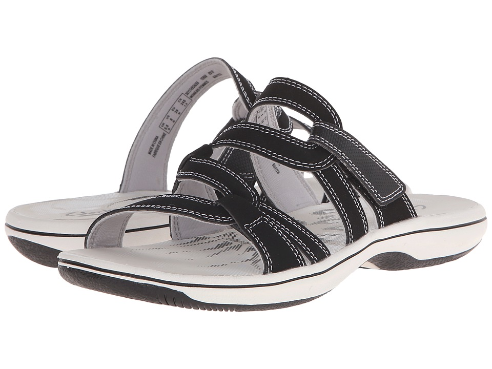 Clarks - Brinkley Lonna (Black) Women's Slide Shoes