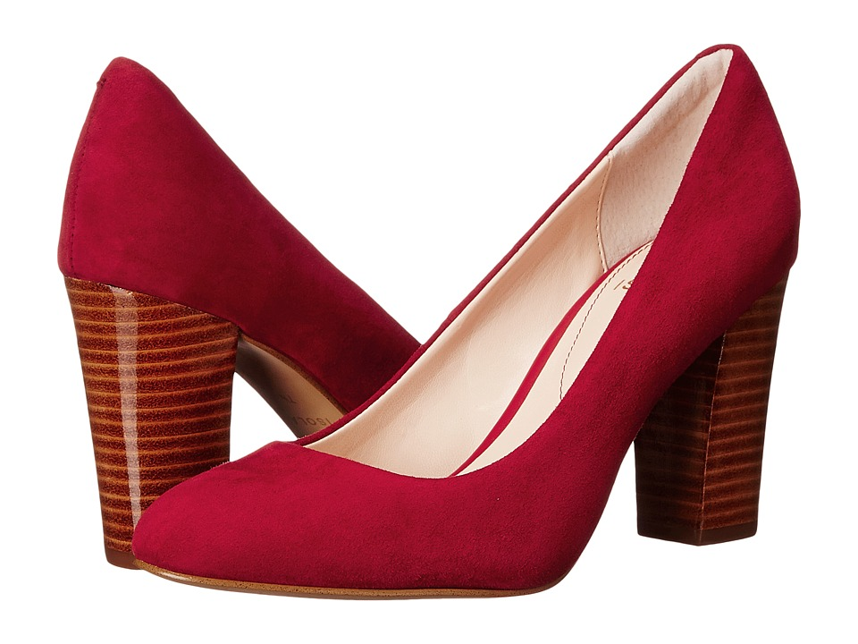 Isola - Eleni II (Fire Red Suede) High Heels