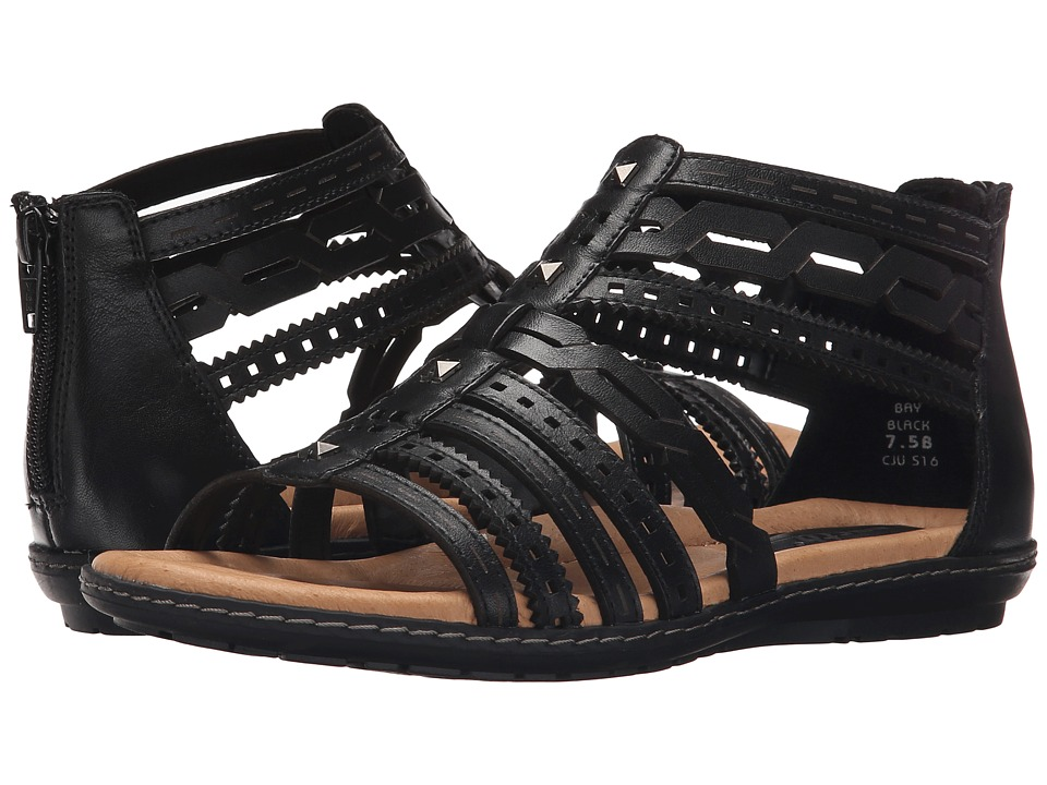 Earth - Bay (Black Soft Calf) Women's Sandals