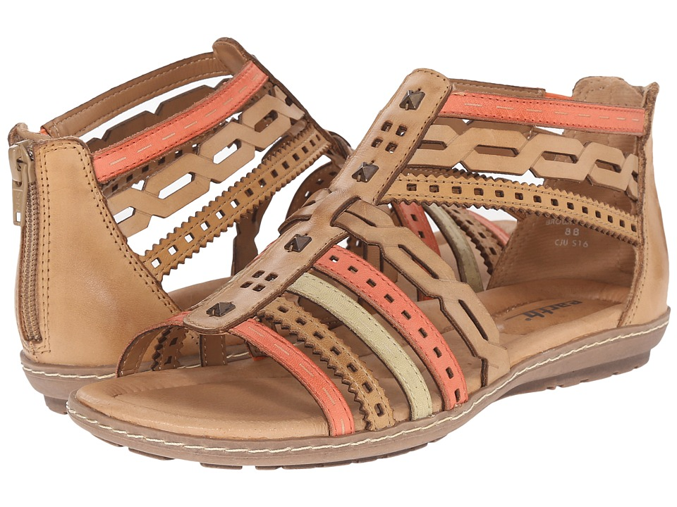 Earth - Bay (Brown Multi Soft Calf) Women's Sandals