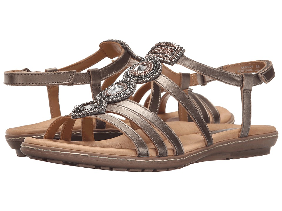 Earth - Seaside (Platinum Soft Calf) Women's Sandals