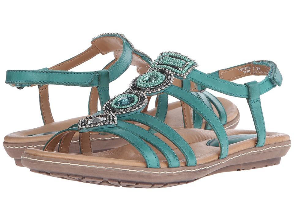 Earth - Seaside (Teal Soft Calf) Women's Sandals