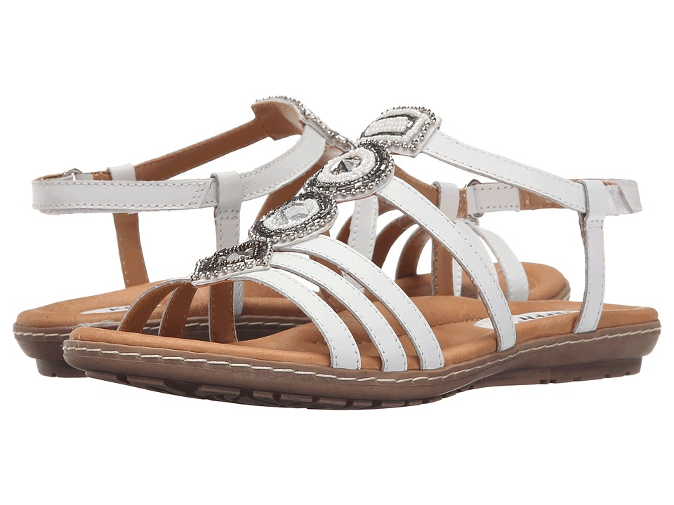 Earth - Seaside (White Soft Calf) Women's Sandals
