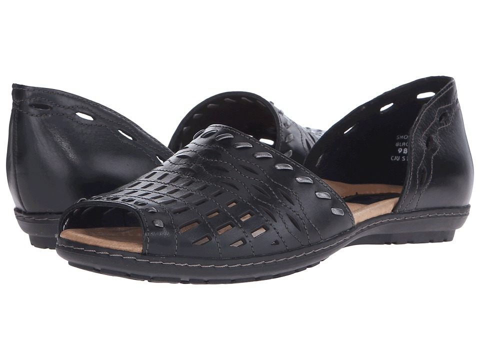 Earth - Shore (Black Soft Calf) Women's Sandals