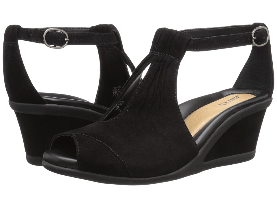 Earth Caper (Black Suede) Women
