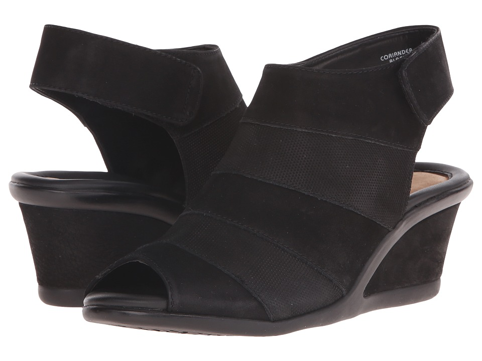 Earth - Coriander (Black Vintage) Women's Wedge Shoes