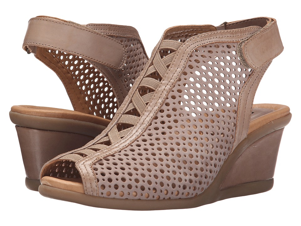 Earth - Calla (Taupe Soft Buck) Women's Wedge Shoes