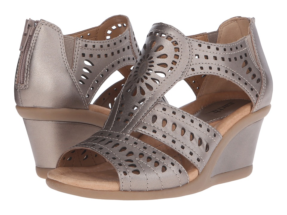 Earth - Crown (Platinum Soft Calf) Women's Wedge Shoes