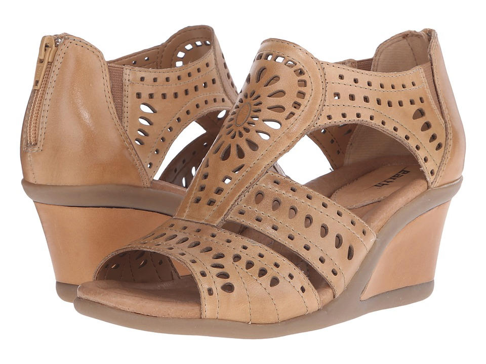 Earth - Crown (Sand Soft Calf) Women's Wedge Shoes