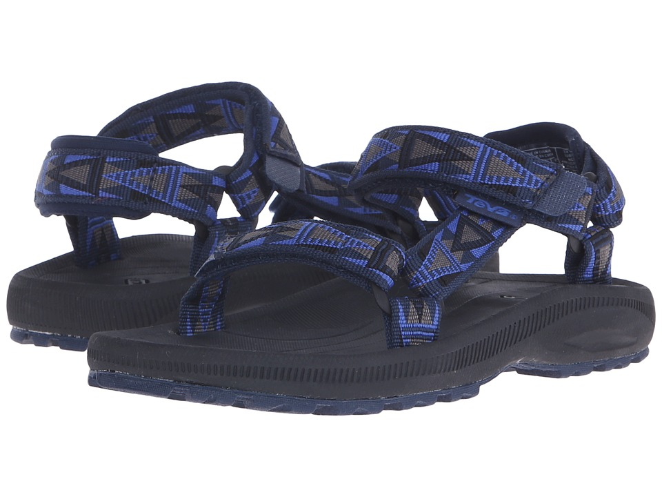 Teva Kids - Hurricane 2 (Little Kid/Big Kid) (Mosaic Blue/Grey) Boy's Shoes
