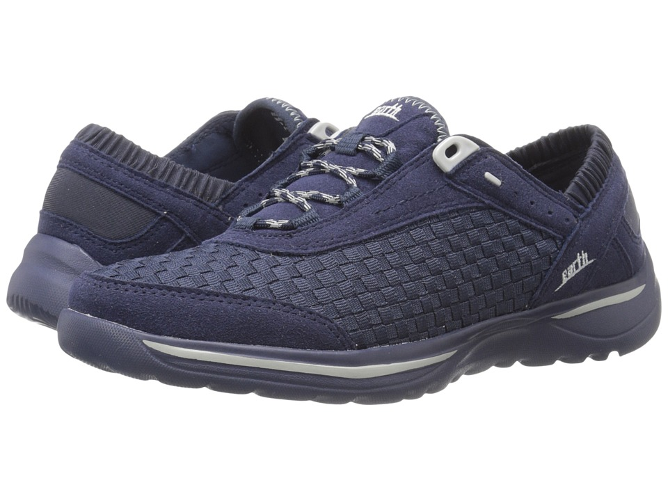 Earth - Agile (Navy Woven) Women's Lace up casual Shoes