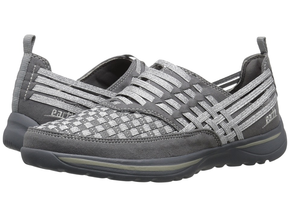Earth - Rapid (Grey Multi Woven) Women's Slip on Shoes