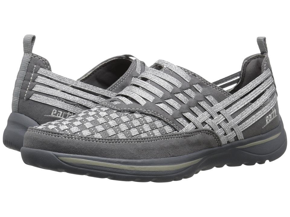 Earth - Rapid (Grey Multi Woven) Women's Slip on Shoes