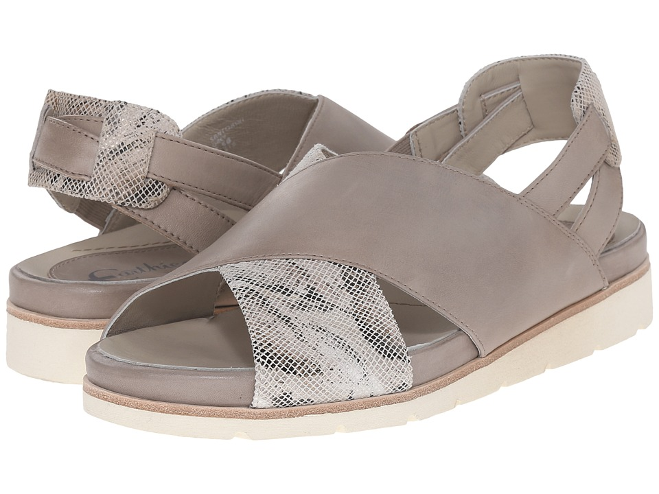 Earth - Santorini Earthies (Grey Soft Calf) Women's Sandals