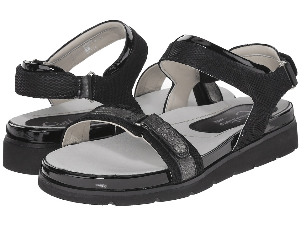 Earth - Argo Earthies (Black Multi Linen Mesh) Women's Sandals