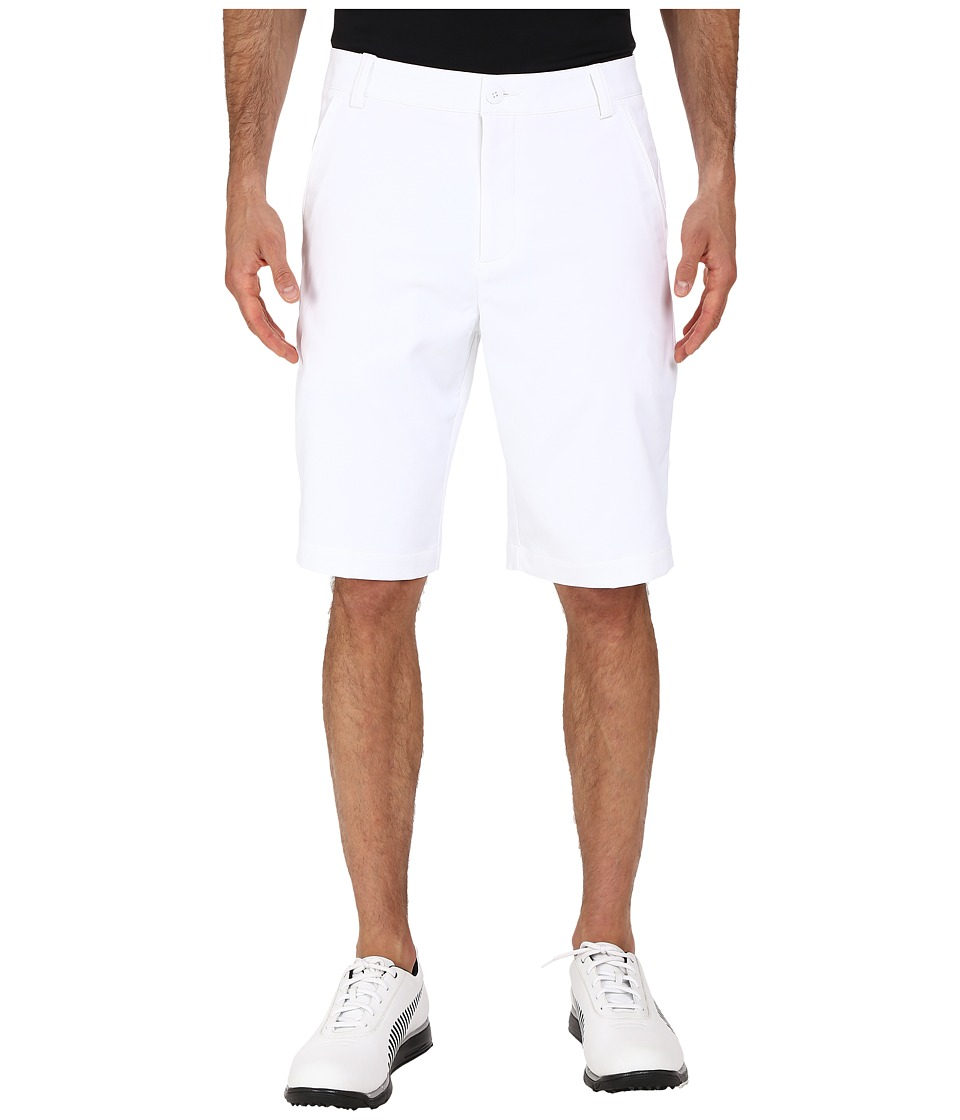 PUMA Golf - Golf Solid Tech Short '16 (Bright White) Men's Shorts