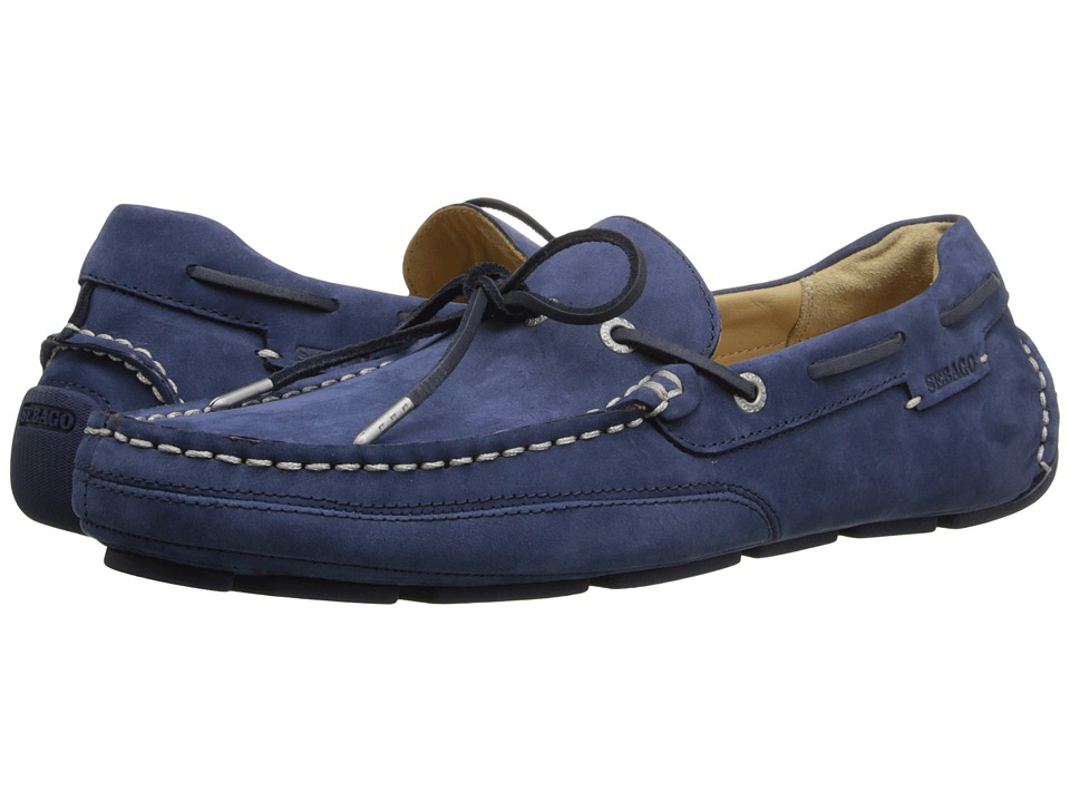 Sebago - Kedge Tie (Navy Nubuck 1) Men's Shoes
