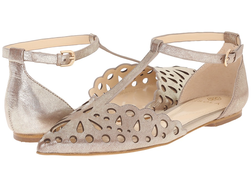 Isola Camillus (Satin Gold) High Heels