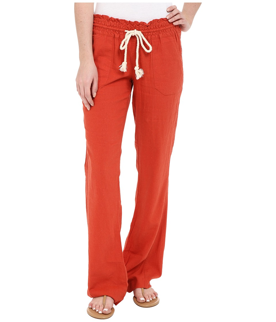 Roxy - Ocean Side Pant (Chili) Women