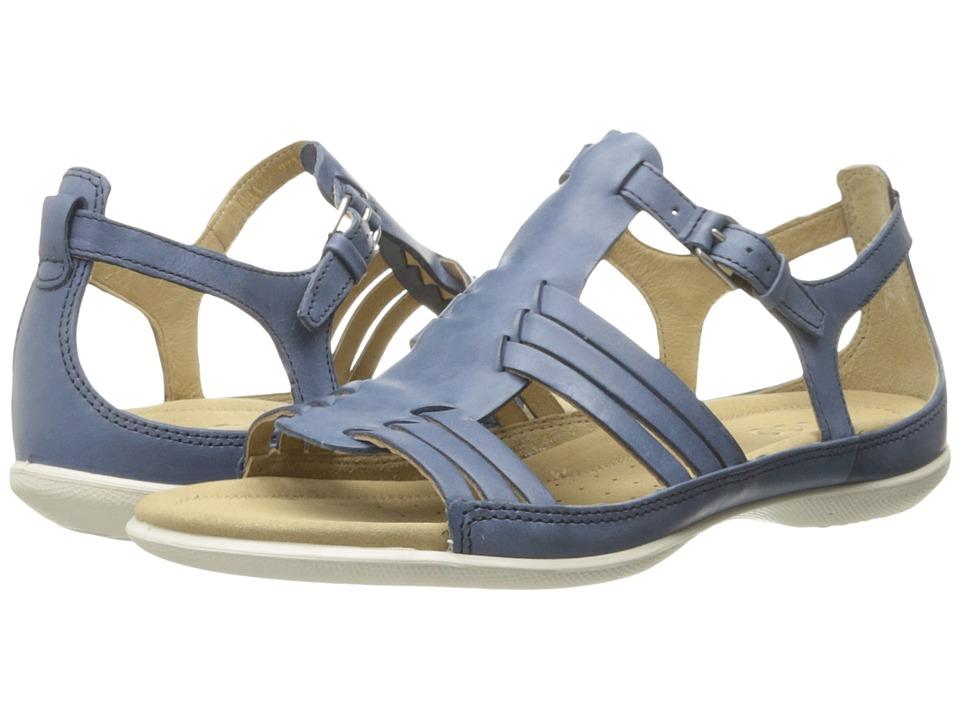 ECCO - Flash Huarache Sandal II (Denim Blue) Women