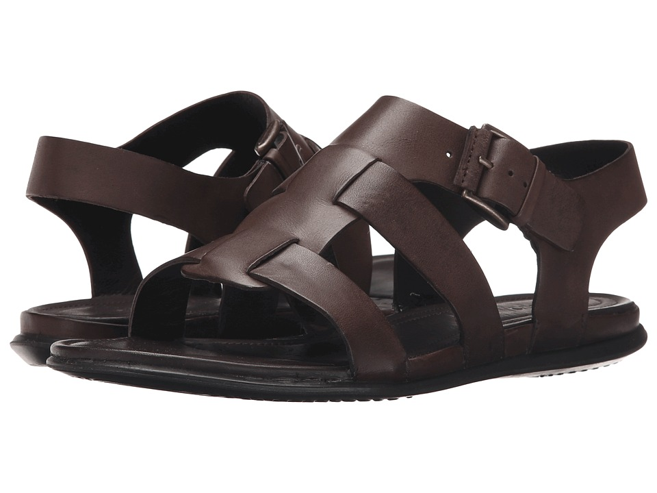 ECCO - Touch Buckle Sandal (Coffee) Women's Sandals
