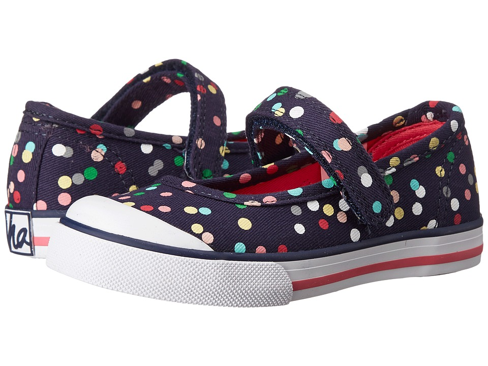 Hanna Andersson - Agda II (Toddler/Little Kid/Big Kid) (Navy) Girls Shoes