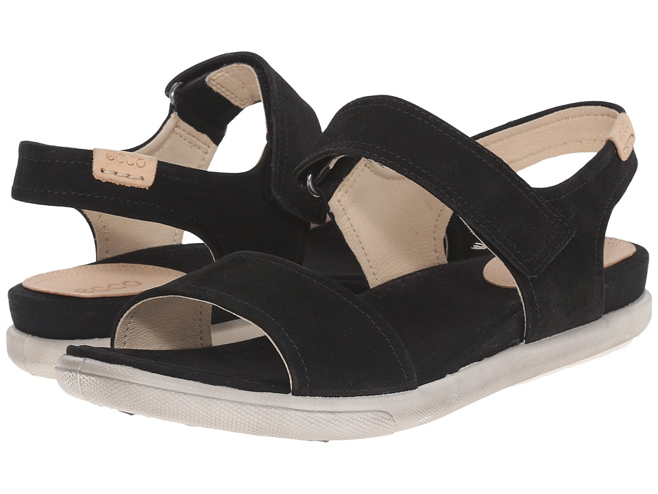 ECCO - Damara Strap Sandal (Black) Women's Sandals