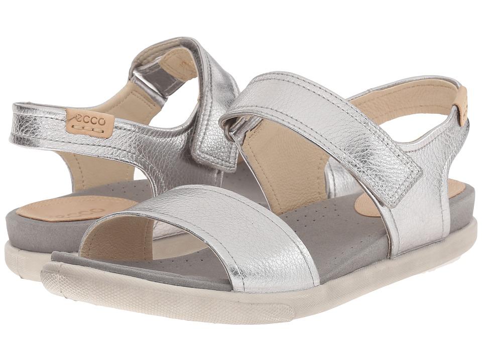 ECCO - Damara Strap Sandal (Alusilver) Women's Sandals