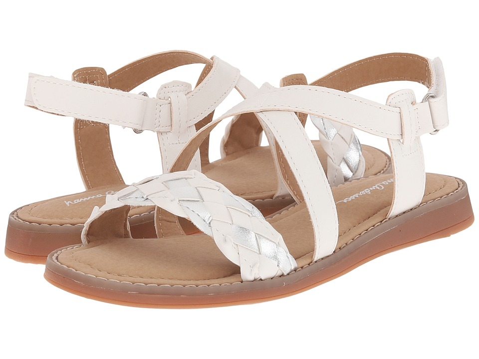 Hanna Andersson - Helga (Toddler/Little Kid/Big Kid) (White) Girls Shoes