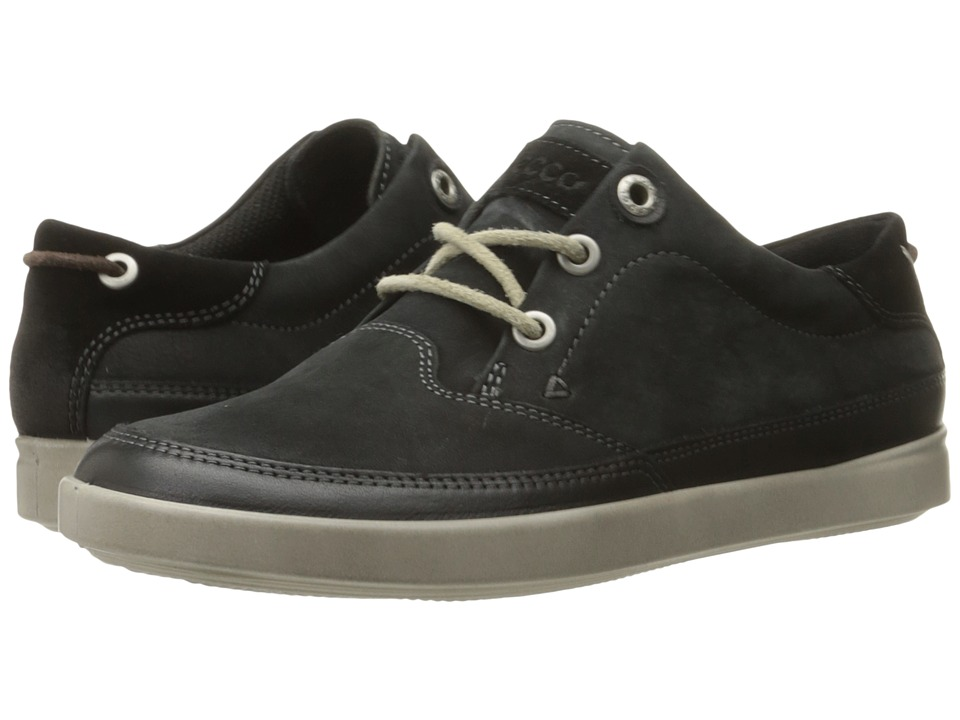 ECCO - Aimee Nautical Sneaker (Black/Black) Women