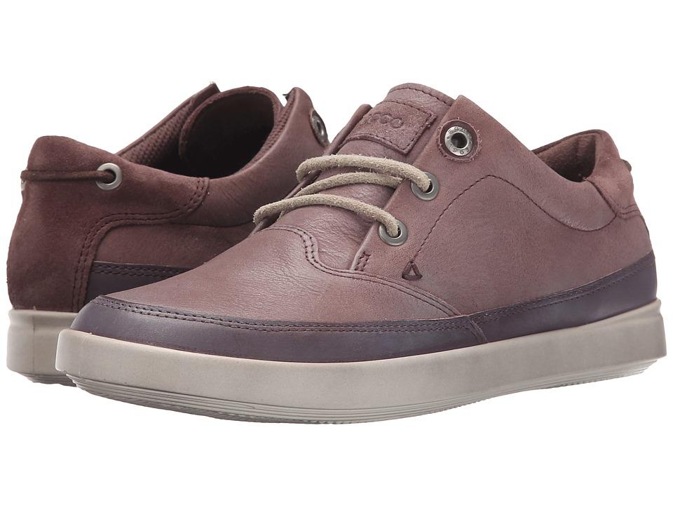 ECCO - Aimee Nautical Sneaker (Dusty Purple/Dusty Purple) Women's Lace up casual Shoes