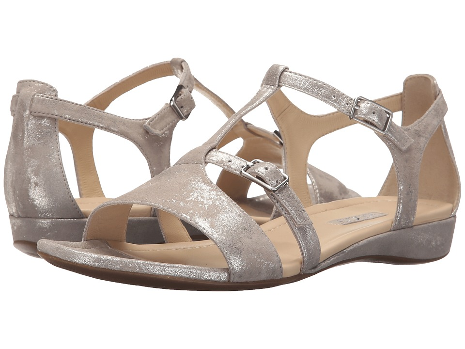 ECCO Boullion T-Strap Sandal (Moon Rock) Women