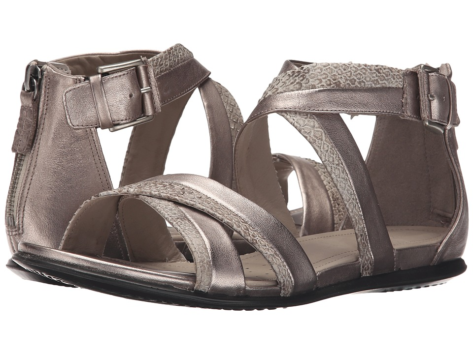 ECCO - Touch Ankle Strap Sandal (Moon Rock/Moon Rock) Women's Sandals