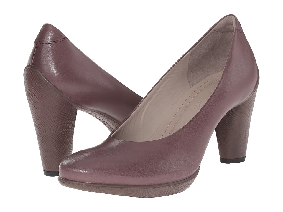 ECCO - Sculptured 75 Pump (Dusty Purple) High Heels