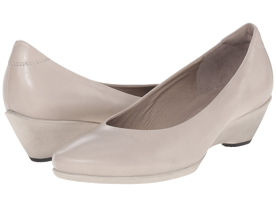 ECCO - Sculptured 45 W Pump (Gravel) High Heels
