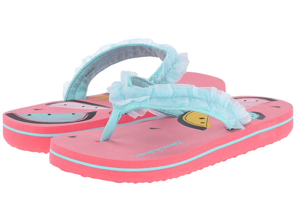 Hanna Andersson - Lizzie (Toddler/Little Kid/Big Kid) (Watermelon) Girls Shoes