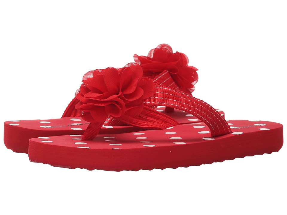 Hanna Andersson - Linnea II (Toddler/Little Kid/Big Kid) (Apple Red) Girls Shoes