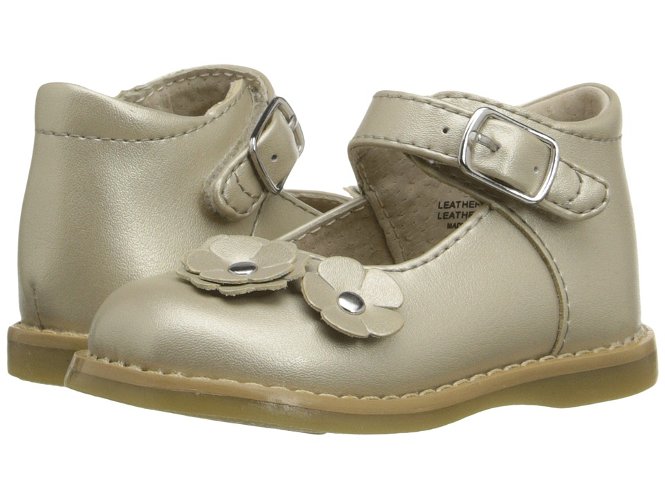 FootMates - Shelby (Infant/Toddler) (Pearl) Girls Shoes