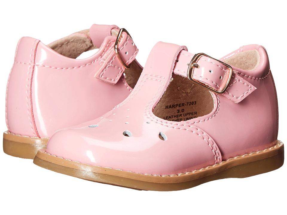 FootMates - Harper (Infant/Toddler) (Rose Patent) Girls Shoes