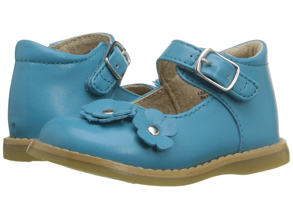 FootMates - Shelby (Infant/Toddler) (Robin Egg) Girls Shoes