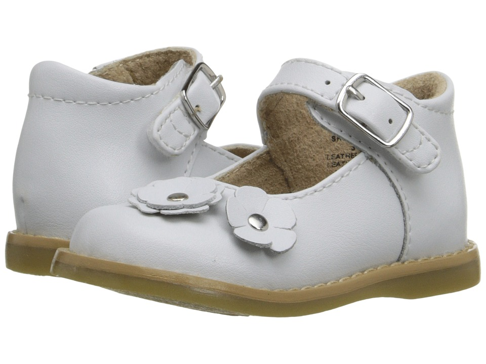 FootMates - Shelby (Infant/Toddler) (White) Girls Shoes