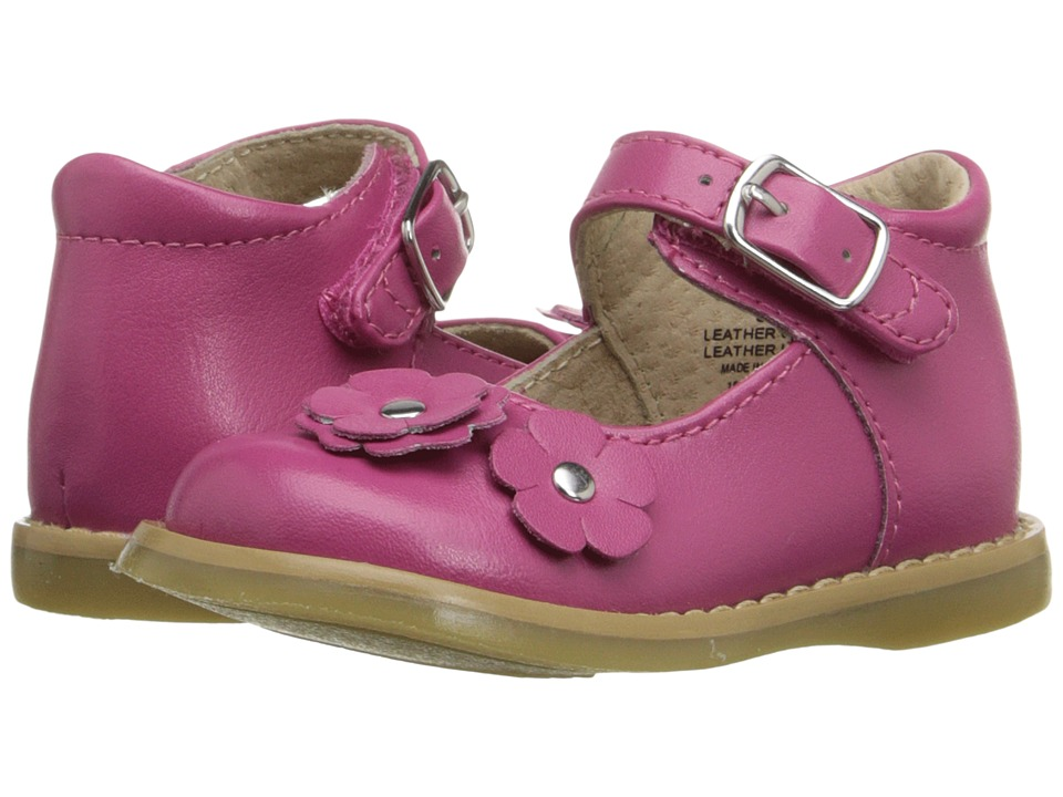FootMates - Shelby (Infant/Toddler) (Fuchsia) Girls Shoes